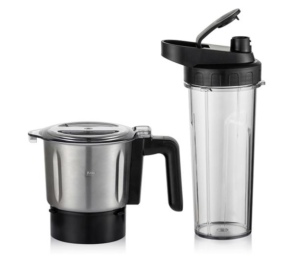 BioChef Galaxy Tumbler and stainless steel grinder
